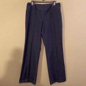 Focus 2000 flat front light denim jeans